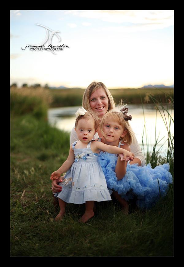 Jennifer with her beautiful girls