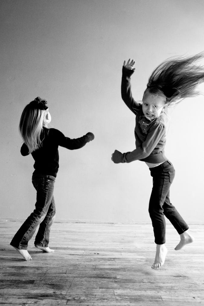 Happy Jumping Dance